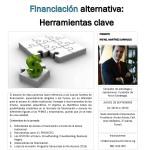 JORNADA FINANCIACIÓN ALTERNATIVA: HERRAMIENTAS CLAVE
