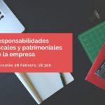 JORNADA POLÍGONO SABÓN: RESPONSABILIDADES FISCALES Y PATRIMONIALES SOBRE LAS DECISIONES DE LA EMPRESA