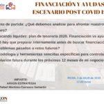 WEBINAR ESCENARIO POST COVID 19